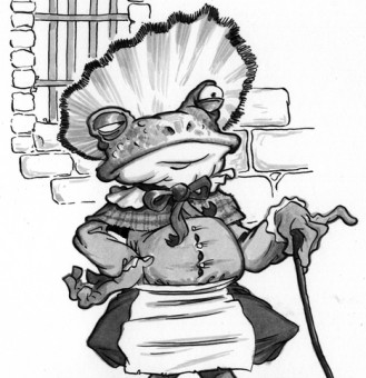 A Disgruntaled Mr. Toad