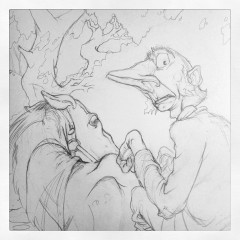 Final Drawing of Ichabod