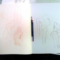 Brian Bowes Life Drawing 0918