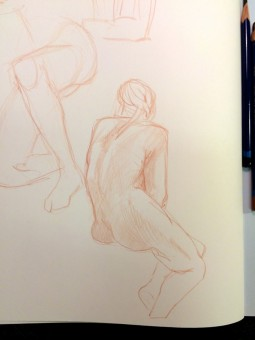 Brian Bowes Life Drawing 0919
