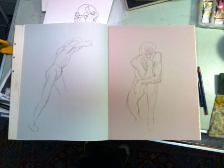Brian Bowes Life Drawing 0920