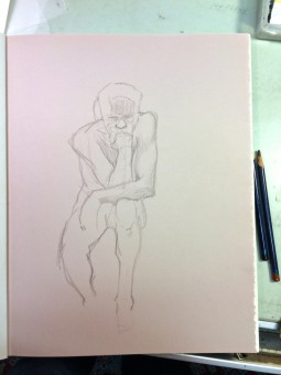 Brian Bowes Life Drawing 0921