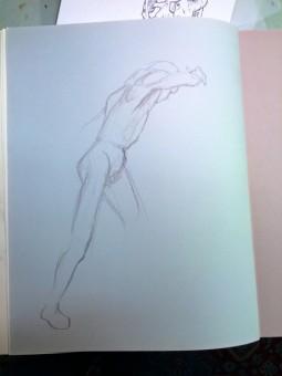 Brian Bowes Life Drawing 0922