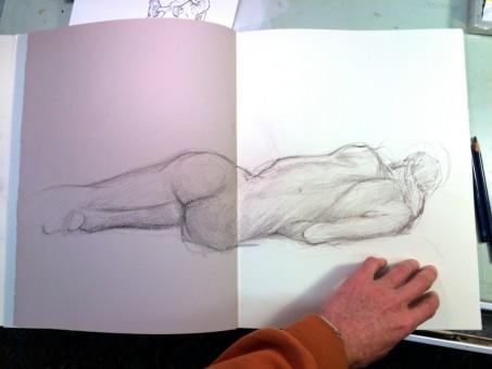 Brian Bowes Life Drawing 0924