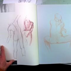 Brian Bowes Life Drawing 0925