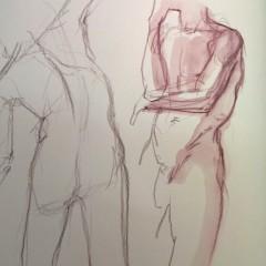 Brian Bowes Life Drawing 0926