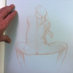 Brian Bowes Life Drawing 0927