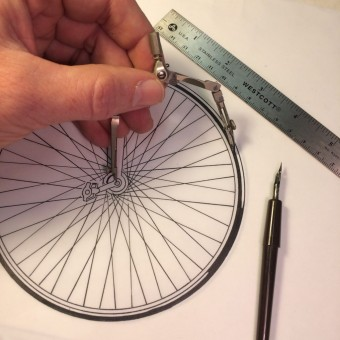 Inking the wheel