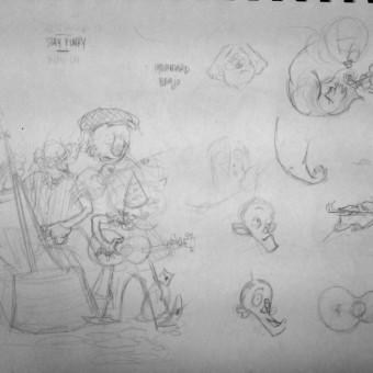 Funky-Sketch