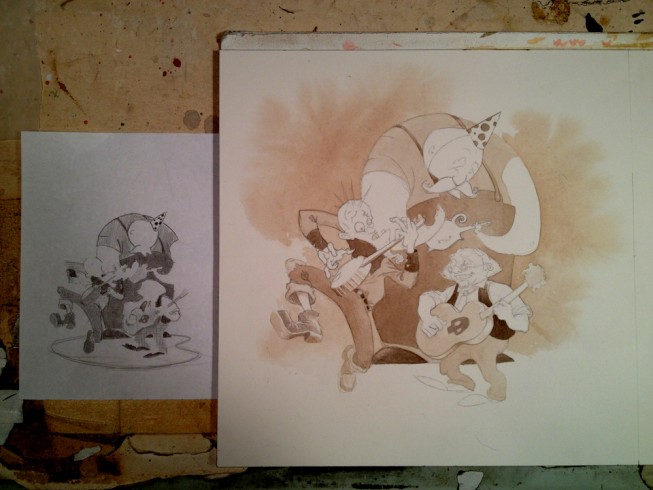 Funky-Sketch12