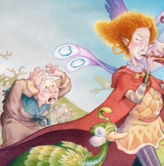 Pied Piper Final Painting
