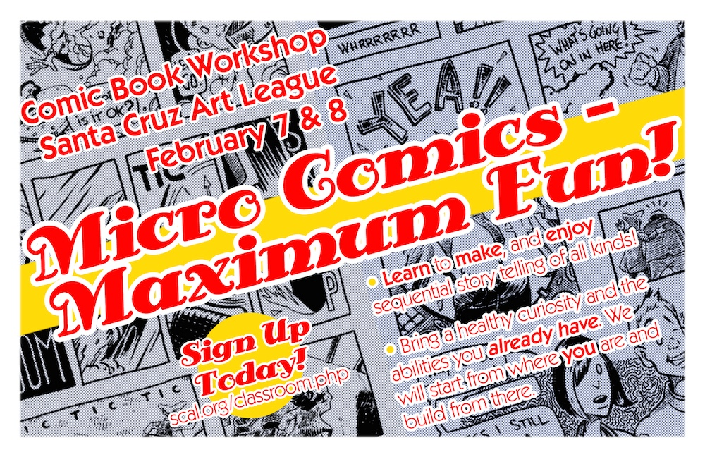 The flyer for the workshop.