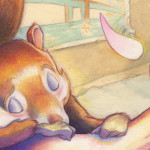 Sleepy San Francisco Squirrel